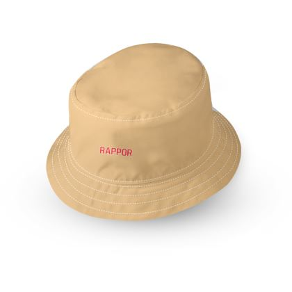 Designer Tan Bucket Hat