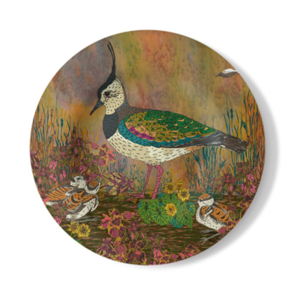 Lapwing Decorative Plate