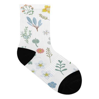 Wild flower socks