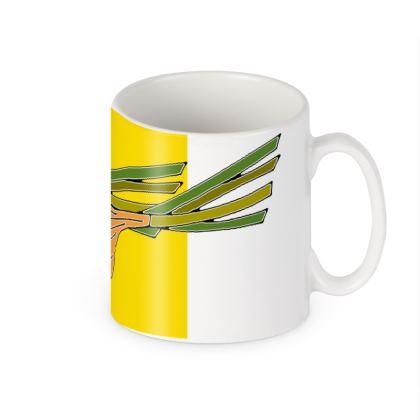Onion Colour Block Ceramic Mug