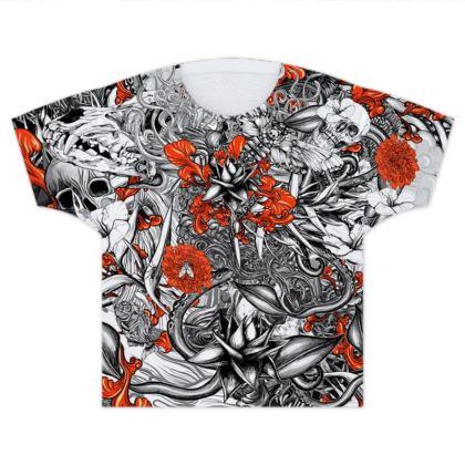 Sixth Mix Black Kids T Shirts