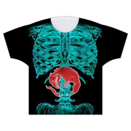 Alien Xray Kids T Shirts