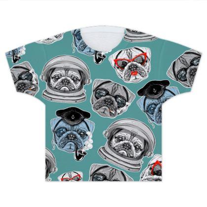 Pugs Kids T Shirts
