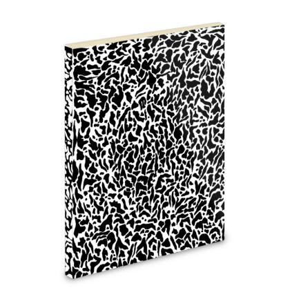 Black Clam print Note Book