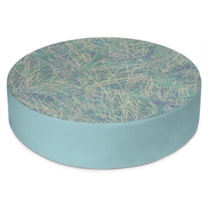 Jazzy Jasper Round Floor Cushion