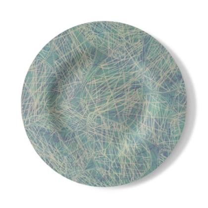 Jazzy Jasper Decorative Plate