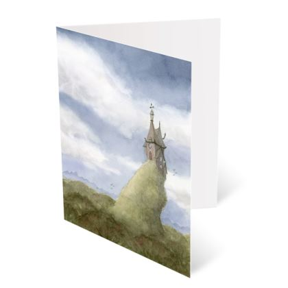 The Wizard's Keep Greetings Card