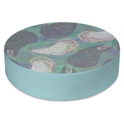 Skye Mussels Round Floor Cushion