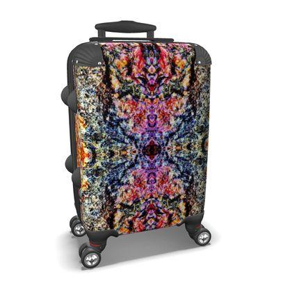 Unique oriental ornament folklore Suitcase