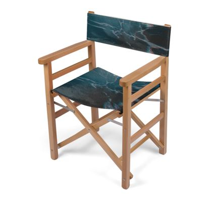 "Directors Chair ""Marbled Ice"""