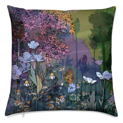 'Overshadowed Thistle' Scatter Cushion