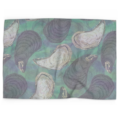 Skye Mussels Tea Towel