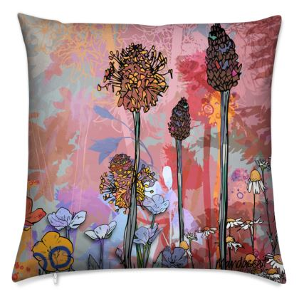 'The Edge of the Meadow' Scatter Cushion