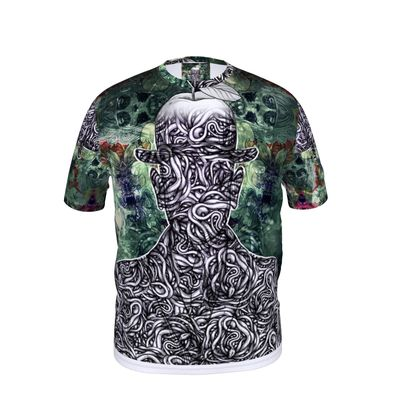 Fourth Son of Man Cut and Sew T Shirt