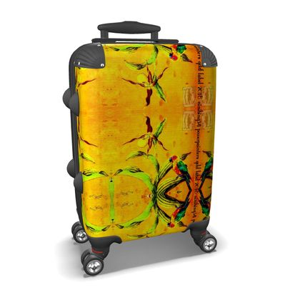Koffer, Handgepäck, YELLOW ORCHID ninibing34