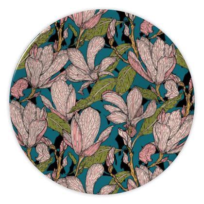 Magnificent Magnolias China Plates