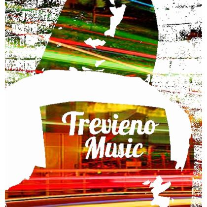 Trevieno Music Calypso Zip Top Handbag