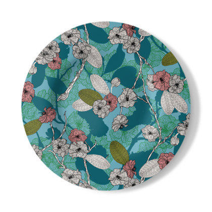 Cherry Blossom Decorative Plate