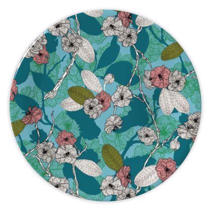 Cherry Blossom China Plates