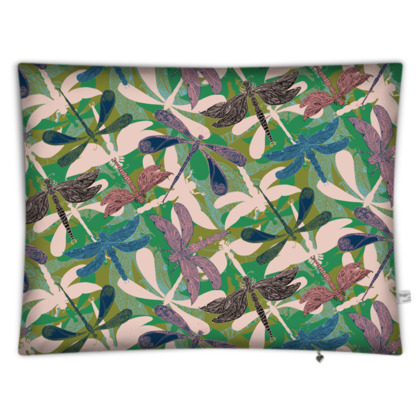 Dancing Dragonflies Floor Cushion