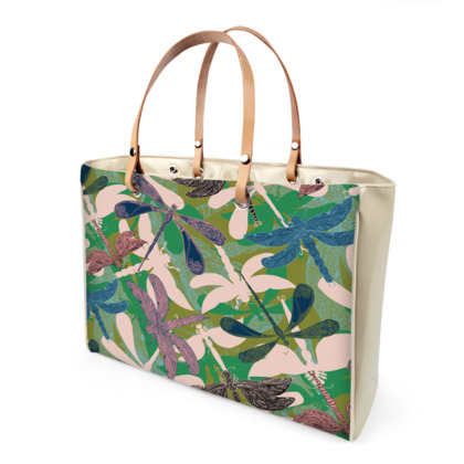 Dancing Dragonflies Handbag