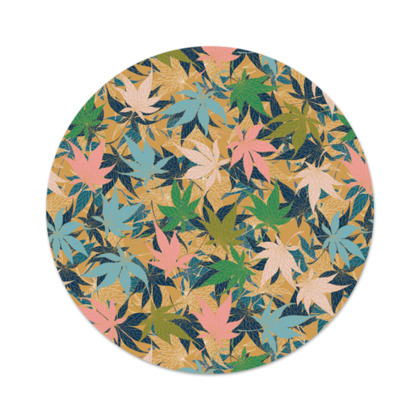 Maple Leaves Serving Platter