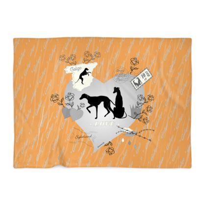 Decke Sighthound-Romantics orange