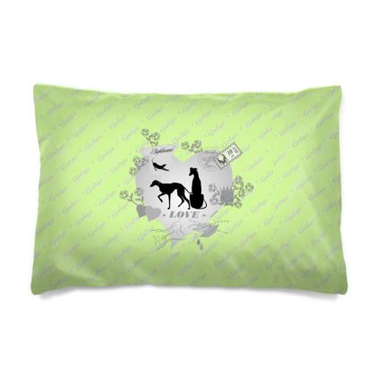 Kissenbezug Sighthound-Romantics Apfel