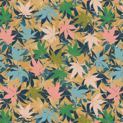 Maple Leaves Fabric Placemat