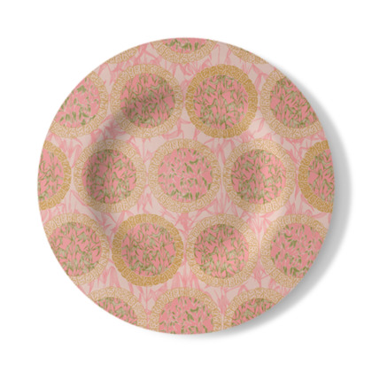 Bamboo Moon Decorative Plate