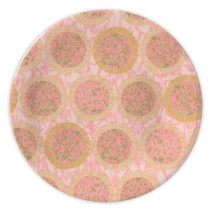 Bamboo Moon China Plates