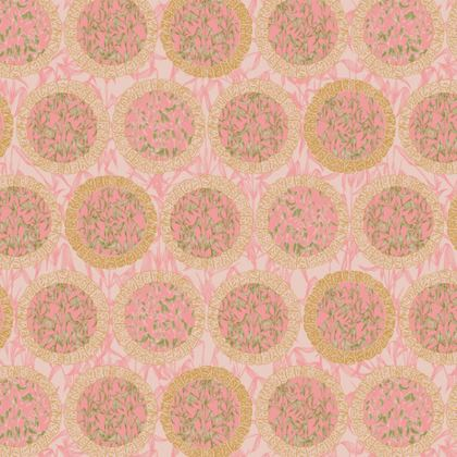 Bamboo Moon Fabric Placemat