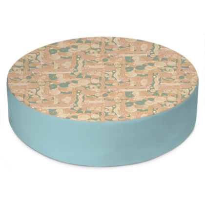 Zen Garden Round Floor Cushion