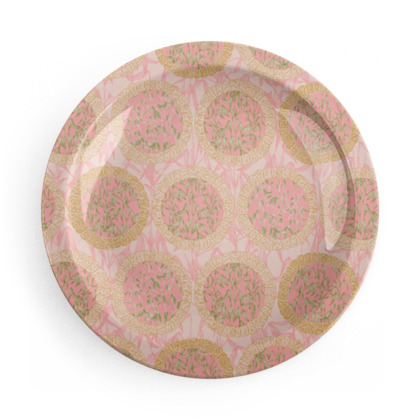 Bamboo Zen Party Plates Set