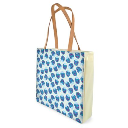 Berrylicious Beach Bag in Blue