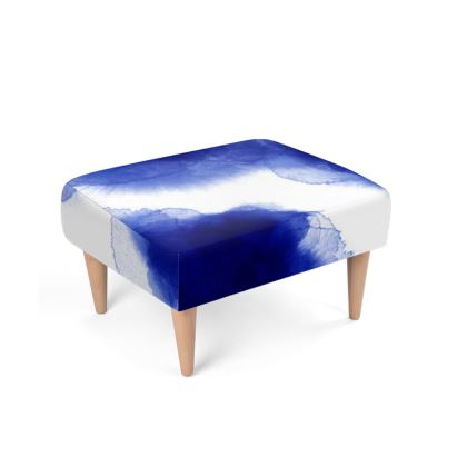 Módulo reposapiés Blue Watercolor