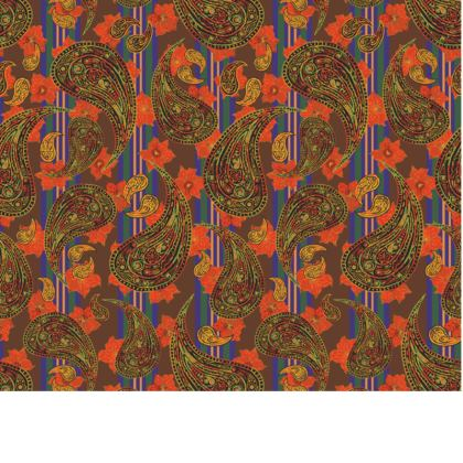 Paisley Stripe Fabric Placemat