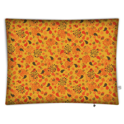 Ditsy Paisley Rectangular Floor Cushion