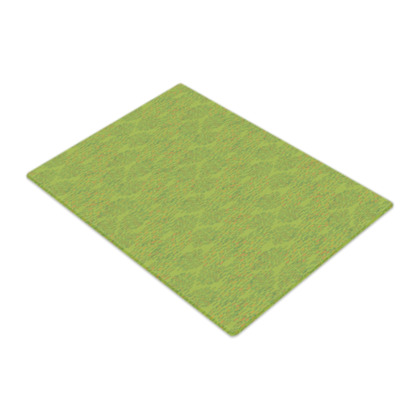 Lime Green Textural Dot Glass Chopping Board