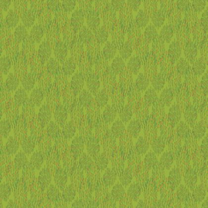 Lime Green Textural Dot Fabric Placemat