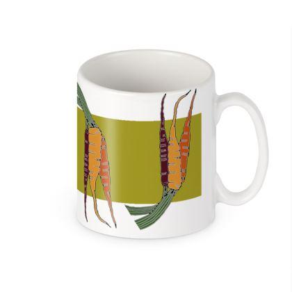 Carrot Ceramic Mug