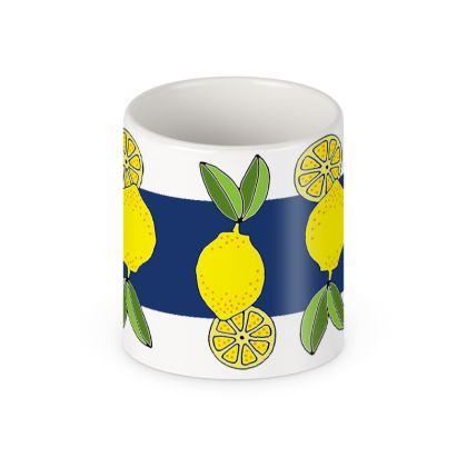Lemon Ceramic Mug