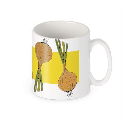 Onion Ceramic Mug