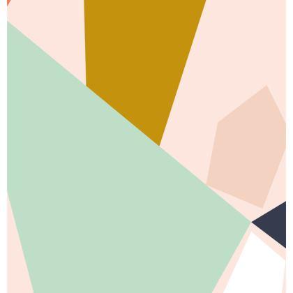 Offset Shapes Cushion