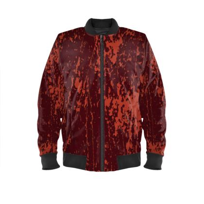 "Ladies Bomber Jacket ""Orange"""
