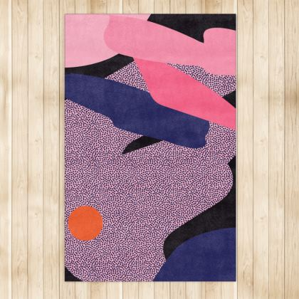 Persnickety Abstract Patterned Rug