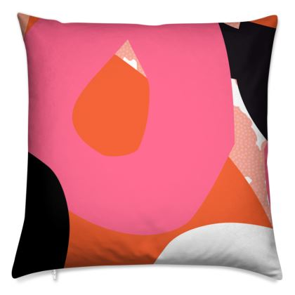 Tidbit Abstract Patterned Cushion