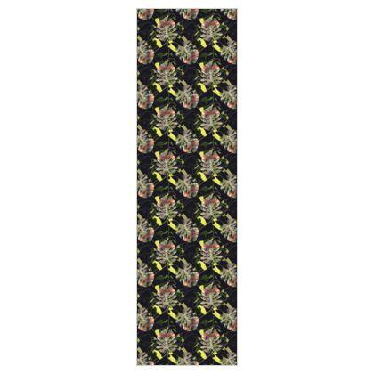P O N N I L A I - Noir  5m Printed Fabric
