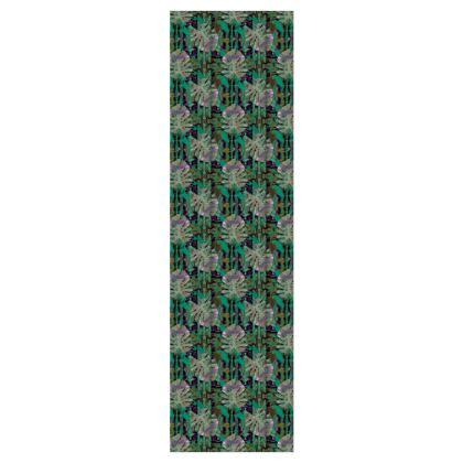 P O N N I L A I - Forest  5m Printed Fabric