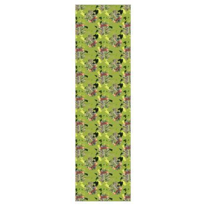 P O N N I L A I - Lime  5m Printed Fabric